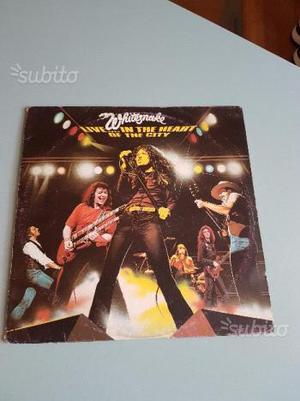Vinile Whitesnake -Live.In the Heart Of The City