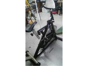 Bicicletta uomo da spinning nera