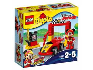 LEGO DUPLO:AUTO SPORTIVA DI TOPOLINO DUPLO - COSTRUZIONI