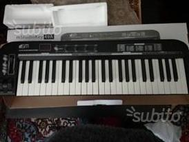 Ms49A MIDI KEYBOARD CON SCATOLO E CAVI