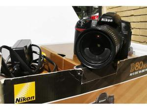 Nikon Kit D80 Digital SLR Camera + AF mm VR