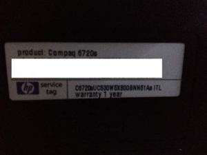 Ricambi per HP Compaq s