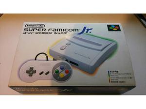 SUPER FAMICOM JR Junior Nintendo Jap nuovo