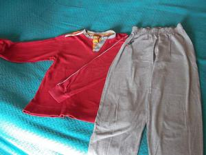 Tuta-pigiama originale AS Roma tg 10 anni felpa pantalone