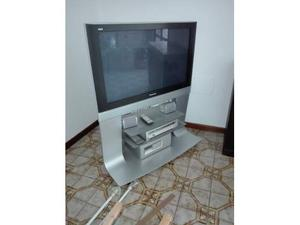 Tv panasonic 37 +impiato audio e video