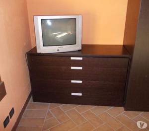 camera in legno wenge stile giapponese