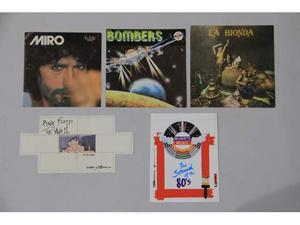 Adesivi Pink Floyd e musica anni 80