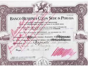 Azione Banco Bussini Perugia