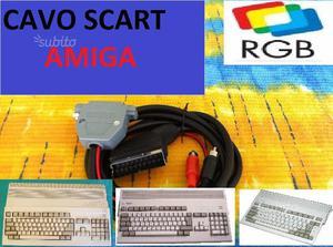 Cavo SCART RGB audio video per Commodore Amiga 500