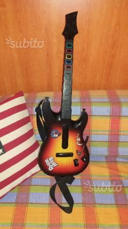 Chitarra Guitar hero per XBOX