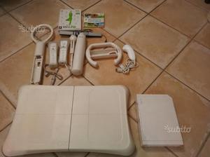Console Wii, balance board ed accessori