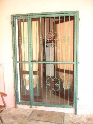 Targa in legno per porta di ingresso posot class - Inferriata porta ...