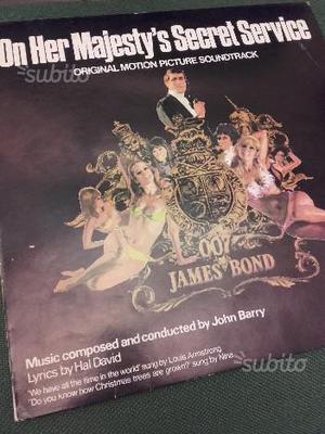 LP 33 giri Vinile JAMES BOND
