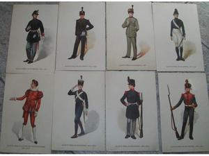 Lotto 8 cartoline Regia Accademia Artiglieria e Genio