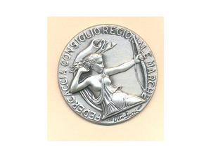 Medaglia argento Ancona
