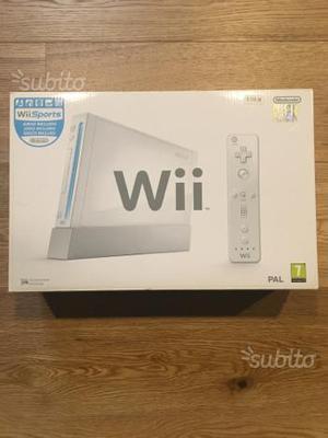 Nintendo Wii con balance board