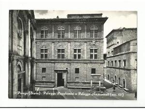 Pienza (Siena) Palazzo Piccolomini e Palazzo Ammannati
