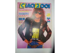Rivista CIAO  Anno  n° 42 Bon Jovi Star 88