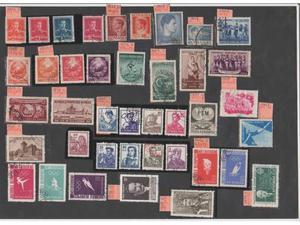 Romania 850 francobolli-dal  al -tutti diversi-v.