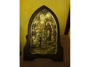 Splendida immagine Madonna di Lourdes anni 50