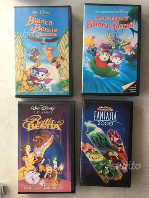 Video VHS cartoni Disney