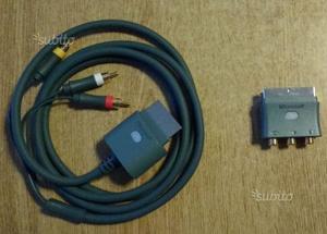 XBOX 360 Cavo Component + Adattatore Scart