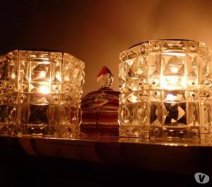 2 LAMPADE DA PARETE E 2 LAMPADE DA TAVOLO