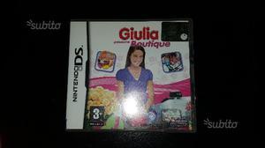 """3 giochi Nintendo DS """"Giulia passione."""""""