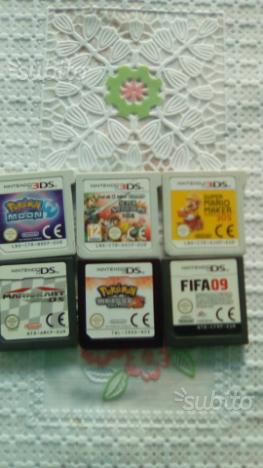 6 giochi originali 3ds e ds
