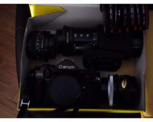 Canon A1 set completo