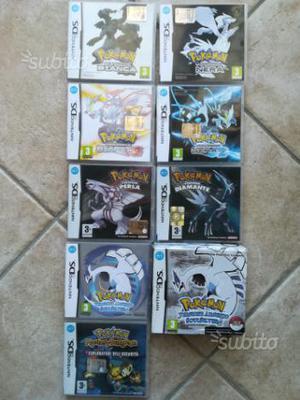 Giochi Pokémon x nintendo ds 3ds