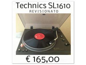 Giradischi Technics Trazione Diretta SL Revisionato