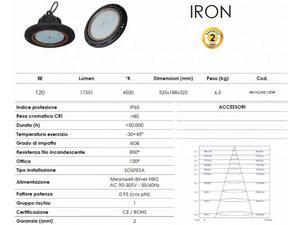 Lampada LED industriale 120 watt