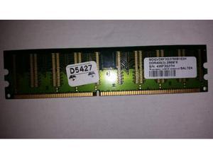 Memoria dimm 256 mb 400 mhz pc