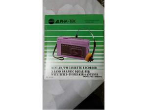 Mini ALPHA-TEK Vintage anni 80