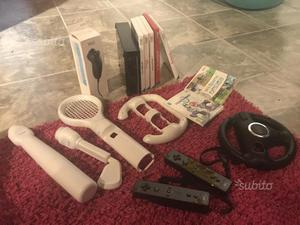 Nintendo Wii con accessori e giochi