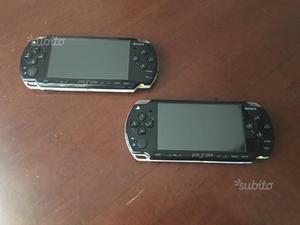 PSP con giochi