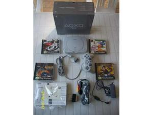 Playstation 1 + 4 giochi + Joistick + Memory Card