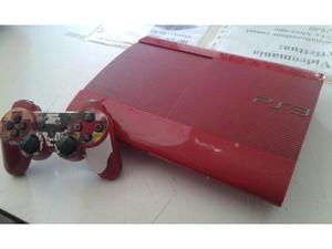 Ps3 super slim 500gb rossa edizione limitata