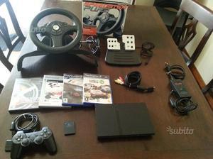 Sony Playstation 2 + volante e giochi
