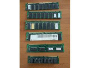 Stock 6 pezzi memoria ram varie tipologie
