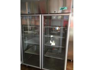 Vetrina frigo in acciaio inox