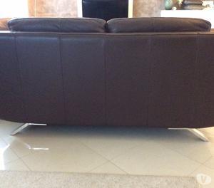 Coppia divani in pelle come nuovi