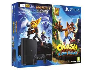 Crash Bandicoot + ratchet and clank