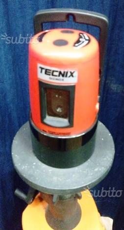 LIVELLA LASER TECNIX EL-601 completa di treppiede