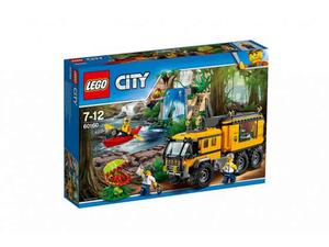 Lego  city - laboratorio mobile della giungla