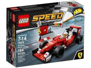 Lego  - speed champions: scuderia ferrari sf16-h