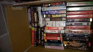 Lotto di 470 videocassette VHS