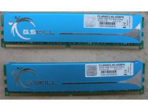 MEMORIA RAM 4GB (2X2) G.SKILL Mhz DDR2