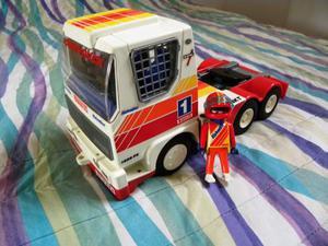 PLAYMOBIL  camion da corsa anni 80 vintage da